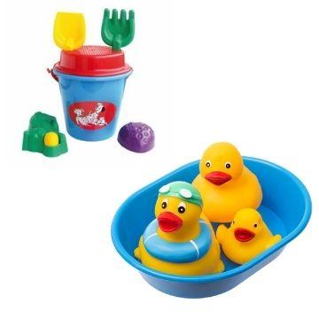 Rotaļlietas vannai, pludmalei