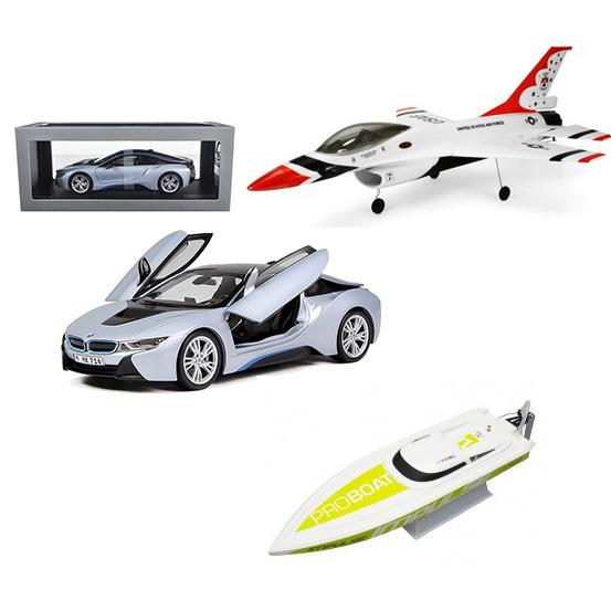 Mašīnas, lidmašīnas, laivas - modeļi