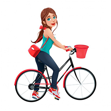 Sieviešu velosipēdi