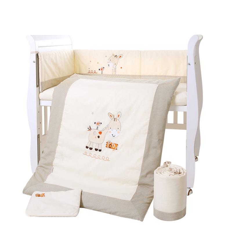 Bērnu gultas veļa: 4 daļas