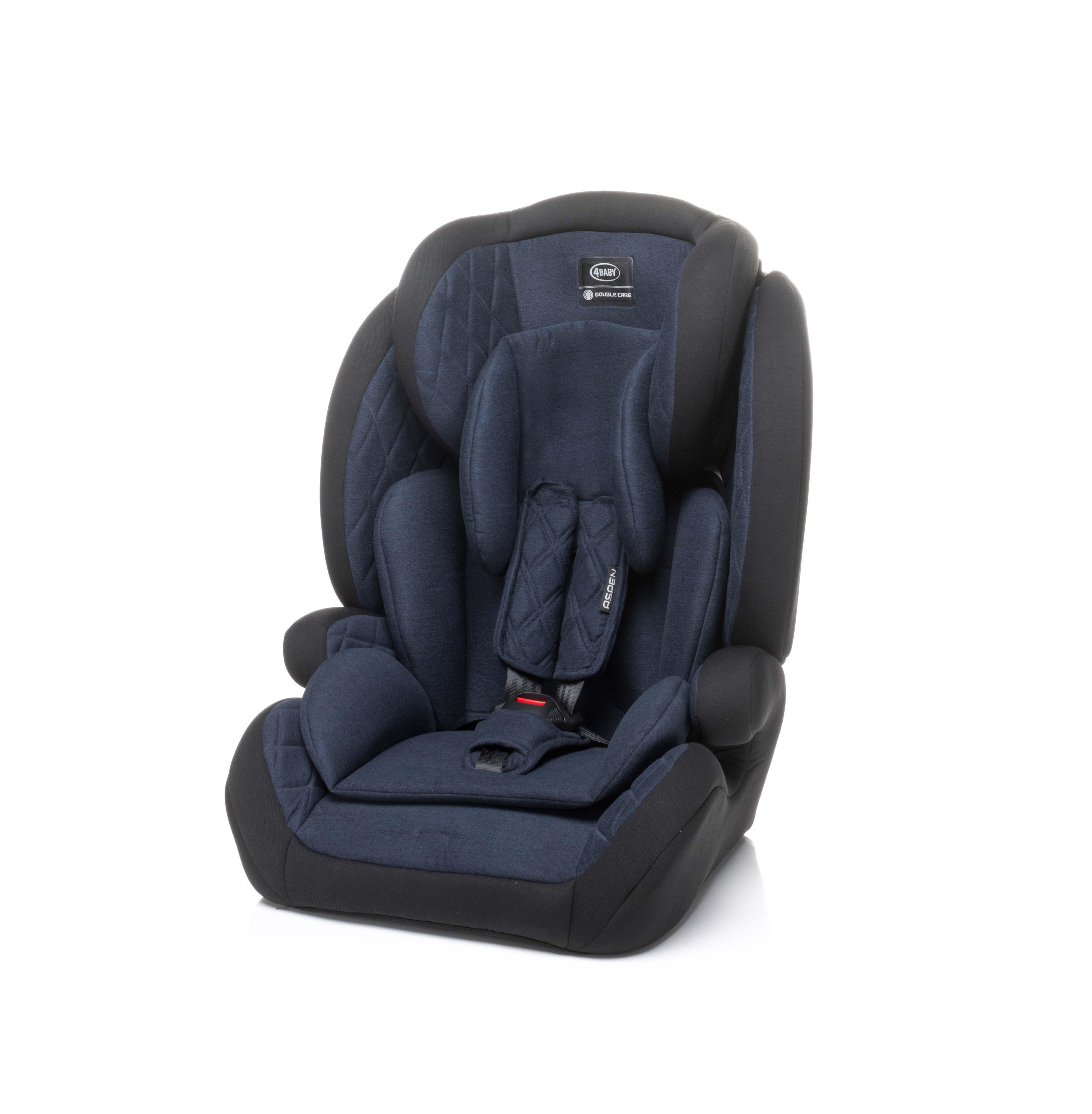 4baby ASPEN navy blue Bērnu autosēdeklis 9-36 kg
