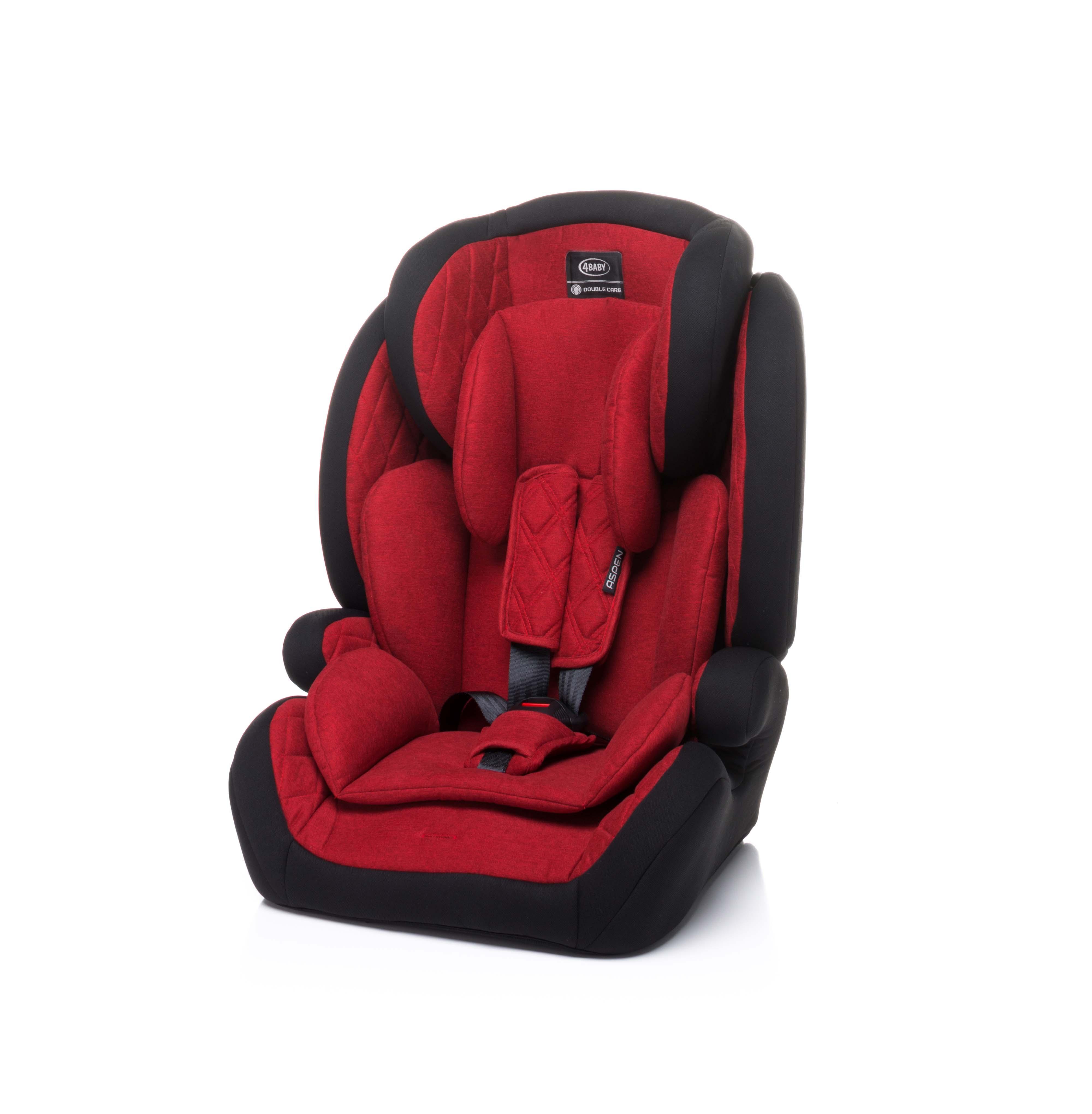 4baby ASPEN red Bērnu autosēdeklis 9-36 kg