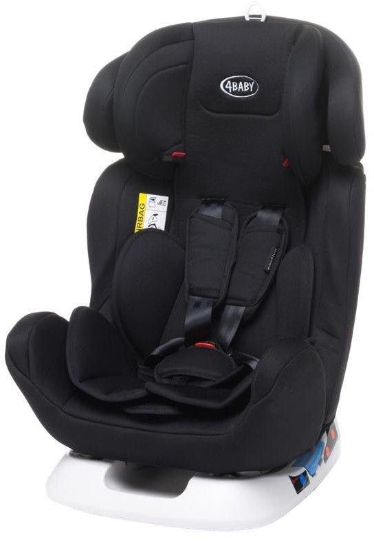 4baby CAPTIVA black Bērnu autosēdeklis 0-36 kg