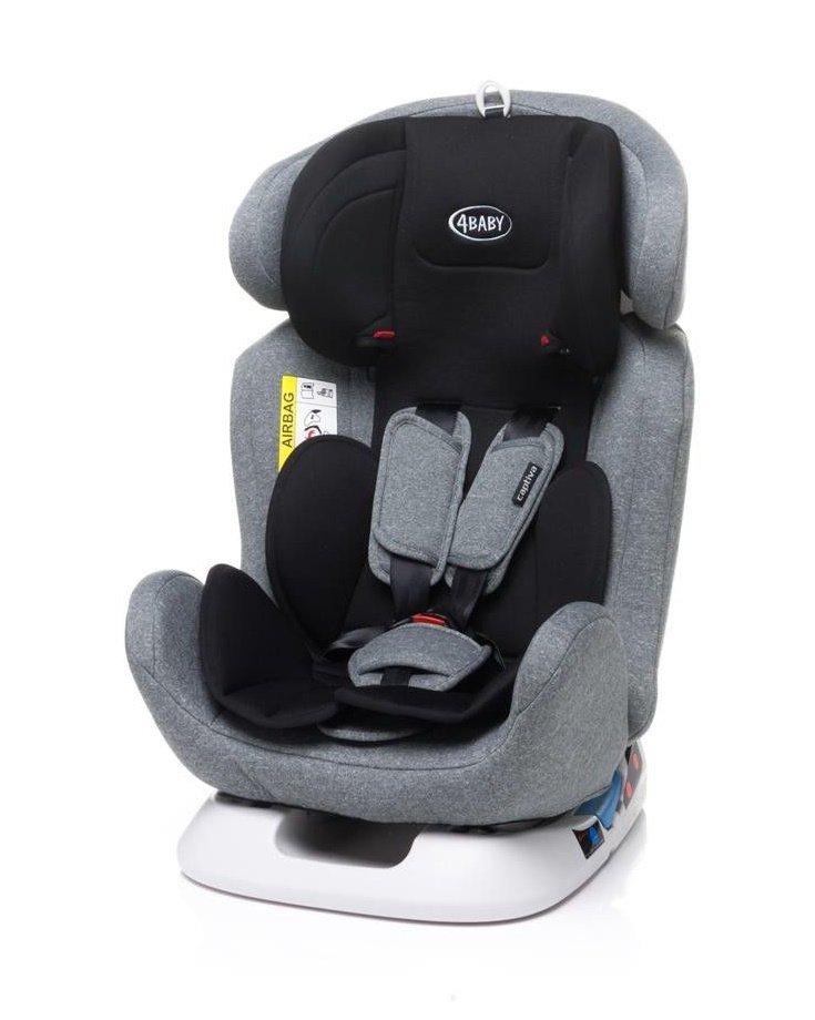 4BABY CAPTIVA light grey Bērnu autosēdeklis 0-36 kg