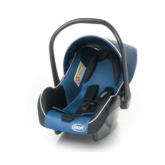 4baby COLBY navy blue Bērnu autosēdeklis (ar kāju pārvalku) 0-13 kg