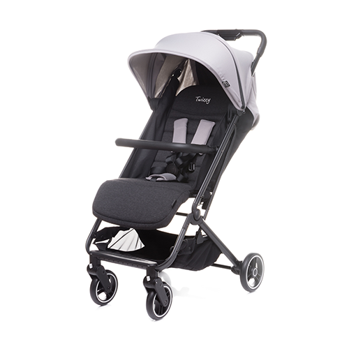 4BABY TWIZZY light grey Sporta rati