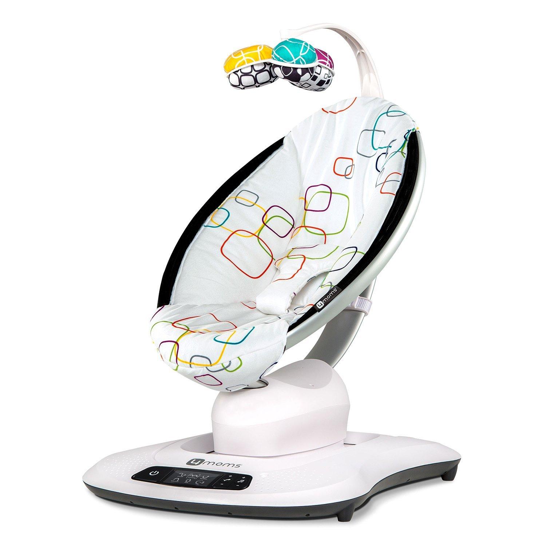 4moms Babywippe MamaRoo® 4 Plush Multicolor Šūpuļkrēsliņš