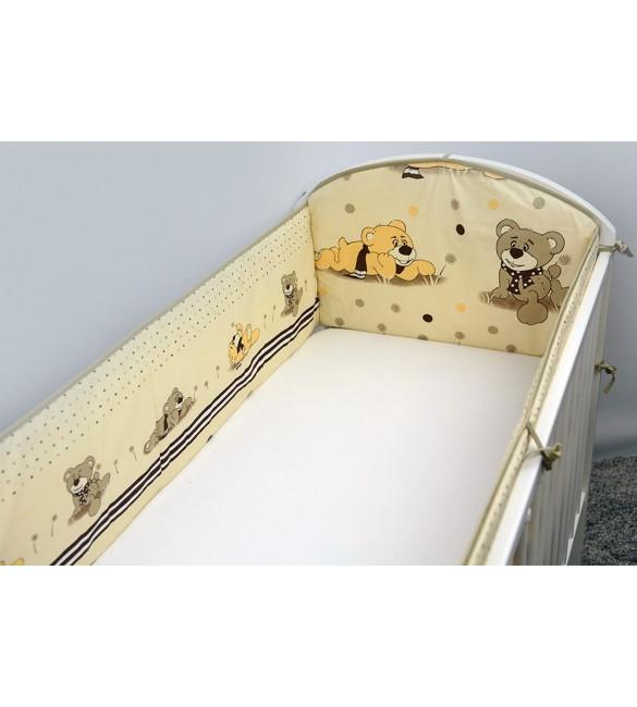 Aizsargs gultai 360 сm ANKRAS DREAMER beige 701DRE.BE