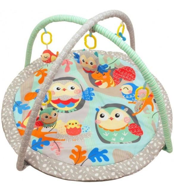 Aktivitātes paklājiņš Baby Mix OWLS 34228