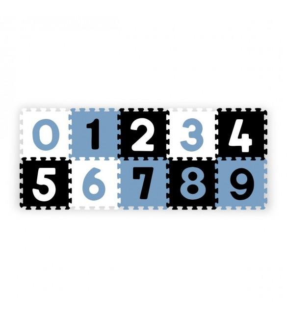 Aktivitātes paklājiņš-puzzle BabyOno NUMBERS - 10 plāksnes 274/03