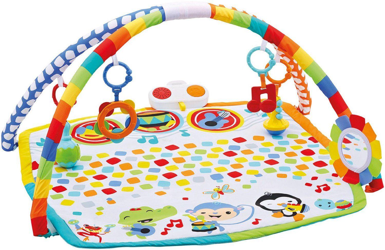 Aktivitātes paklājs Fisher Price Baby's bandstand play gym DFP69