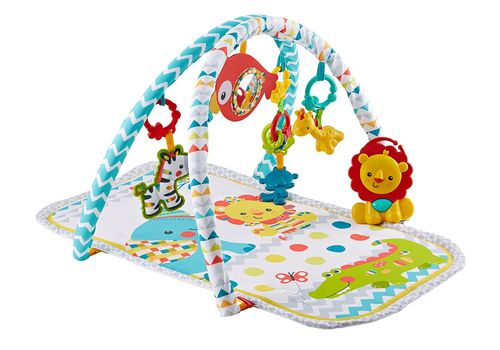 Aktivitātes paklājs Fisher Price Colourful Carnival 3in1 Musical Activity Gym DPX75