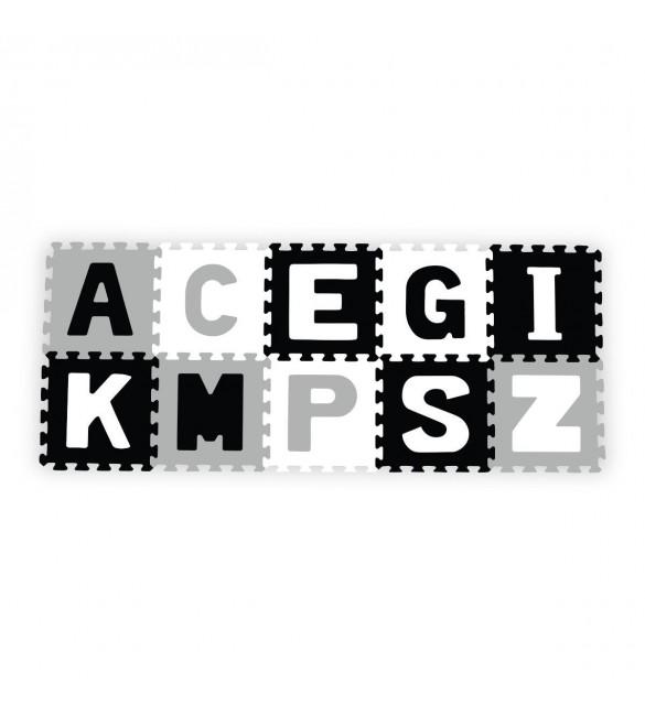 Aktivitātes paklājs Puzzle 30х30 cm no 10 elementiem Babyono LETTERS 278/02