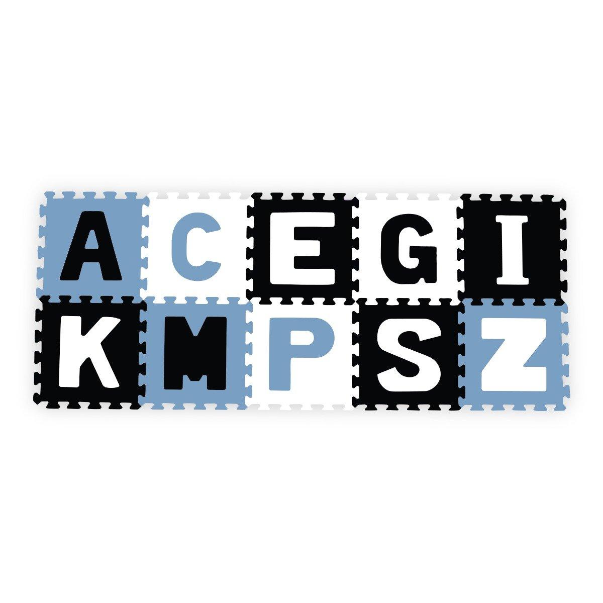 Aktivitātes paklājs Puzzle 30х30 cm no 10 elementiem Babyono Letters 278/03