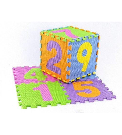 Aktivitātes paklājs Puzzle Cipāri 9 elementi 30x30 cm 511347