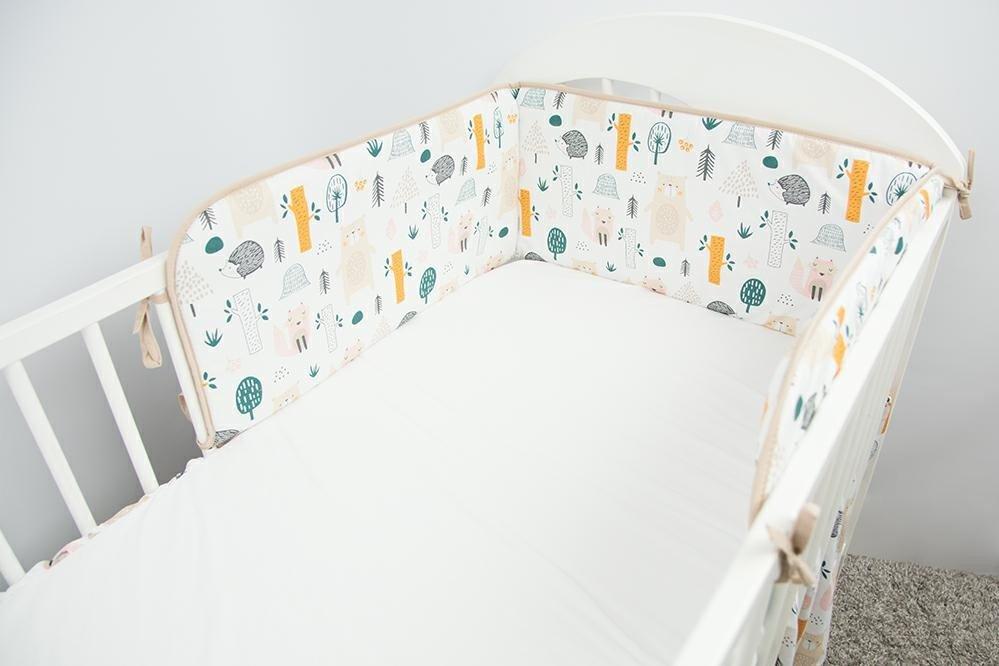 Apmale gultai 180 cm Ankras FOREST beige