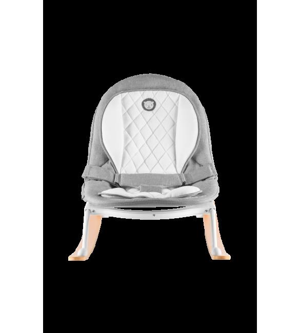Lionelo ROSA grey/white Šūpuļkrēsliņš 2in1