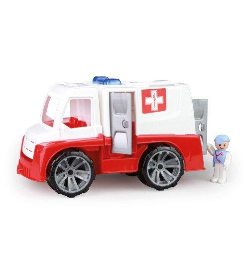 Ātras palīdzības mašīna ar cilvēciņu Truxx 29 cm Čehija L04446