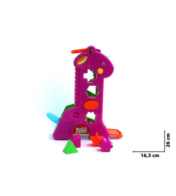 Attīstošā rotaļlieta-sortieris GIRAFFE TG225560