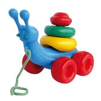 Attīstosā rotaļlieta Gliemezis NINA 00105