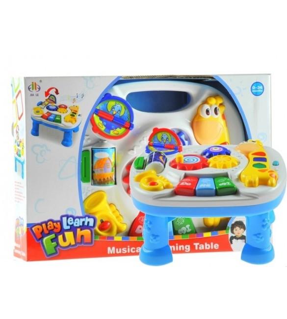 Attīstošā rotaļļieta Interaktīvais galdiņš 26x17x27 cm BABY MIX 59961 GIRAFFE