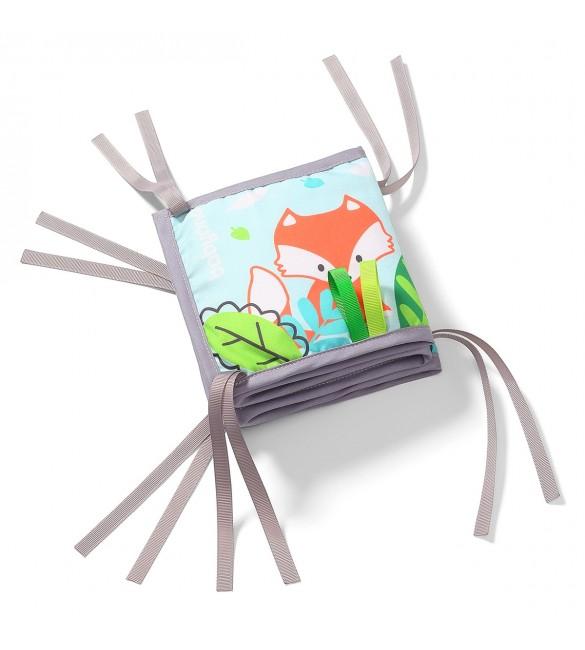 Attīstošā rotaļlieta Mīkstā grāmatiņa BabyOno FRIENDLY FOREST 549