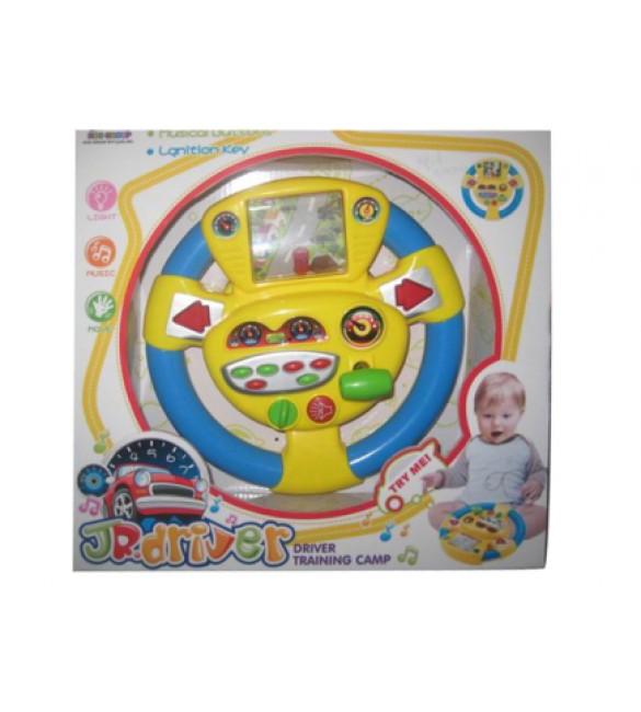 Attīstošā rotaļlieta Stūre ar gaismām un skaņām 34 cm 7105999