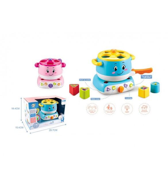 Attīstošā rotaļlieta Virtuve-sortieris ar skaņu + gaismu 7138952