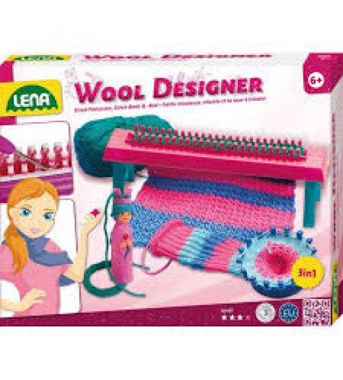 Aušanas stelles ar piederumiem 3 vienā Lena Wool Designer L42681