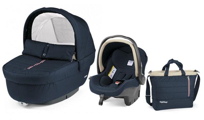 Autokrēsls un Kulba ar somu PEG-PEREGO Navetta SET Elite Primo Viaggio SL Breeze Blue IPMS170035CH41DX26