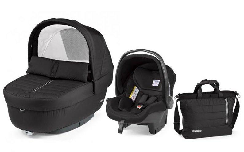 Autokrēsls un Kulba ar somu PEG-PEREGO Navetta SET Elite Primo Viaggio SL Breeze Noir IPMS170035CH13DX13
