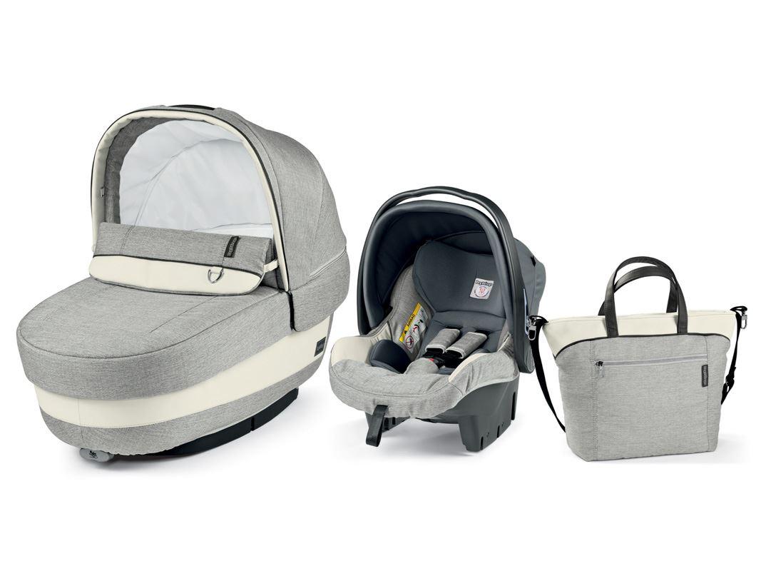 Autokrēsls un Kulba ar somu PEG-PEREGO Navetta SET Elite Primo Viaggio SL Luxe Opal IPMS170035BA73PL66