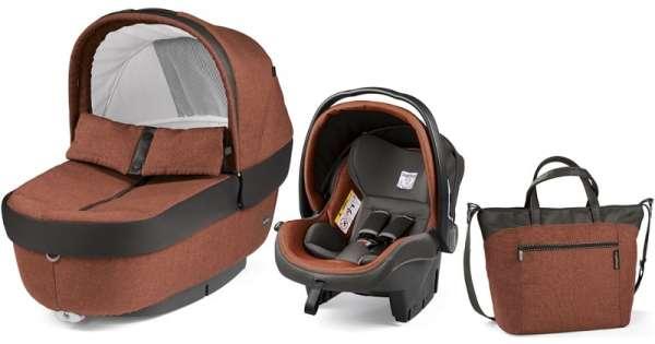 Autokrēsls un Kulba ar somu PEG-PEREGO Navetta SET Elite Primo Viaggio SL Terracotta IPMS170035TG48DX53