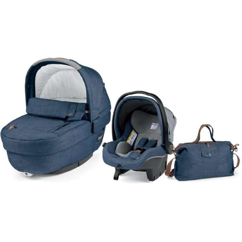 Autokrēsls un Kulba ar somu PEG-PEREGO Navetta SET Elite Primo Viaggio SL Urban Denim IPMS170035JN41PC73
