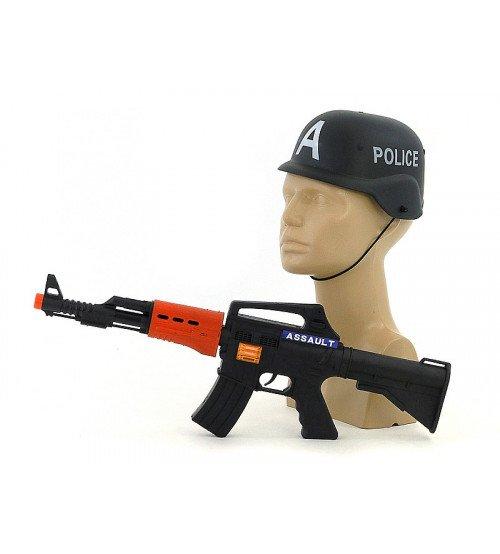 Automāts ar ķiveri policijas ar skaņu un gaismu 457003