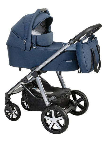 Baby Design Husky 103 Navy Bērnu rati 2in1