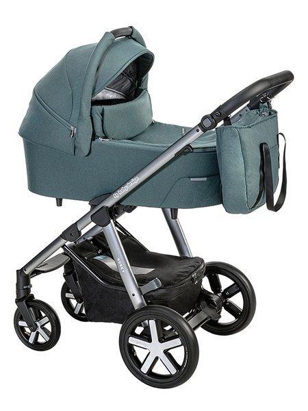 Baby Design Husky 105 Turqouise Bērnu rati 2in1
