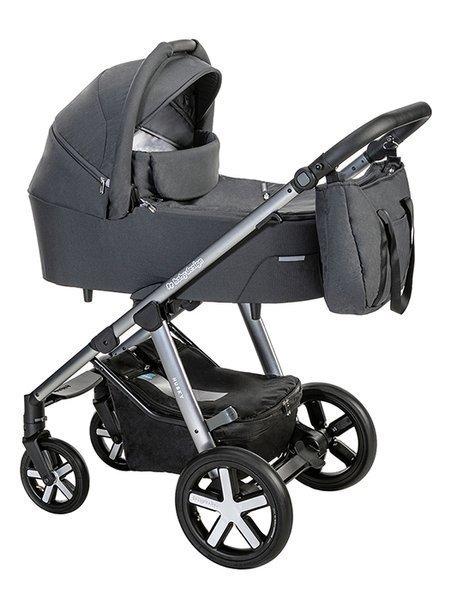 Baby Design Husky 117 Graphite Bērnu rati 2in1