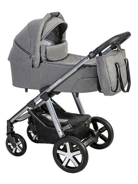 Baby Design Husky 07 Grey Bērnu rati 2in1