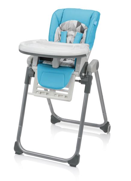 Baby Design LOLLY Lake Blue Barošanas krēsls