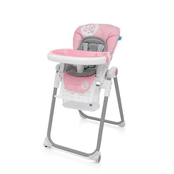 Baby Design LOLLY Pink Barošanas krēsls