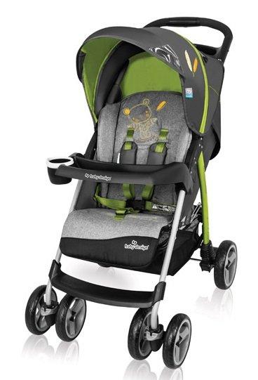 Baby Design Walker Lite 04 Green Sporta ratiņi