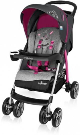 Baby Design Walker Lite 08 Pink Sporta ratiņi