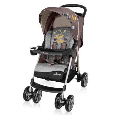 Baby Design Walker Lite 09 Brown Sporta ratiņi
