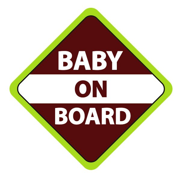 Baby On Board Latvia Uzlīme automašīnai