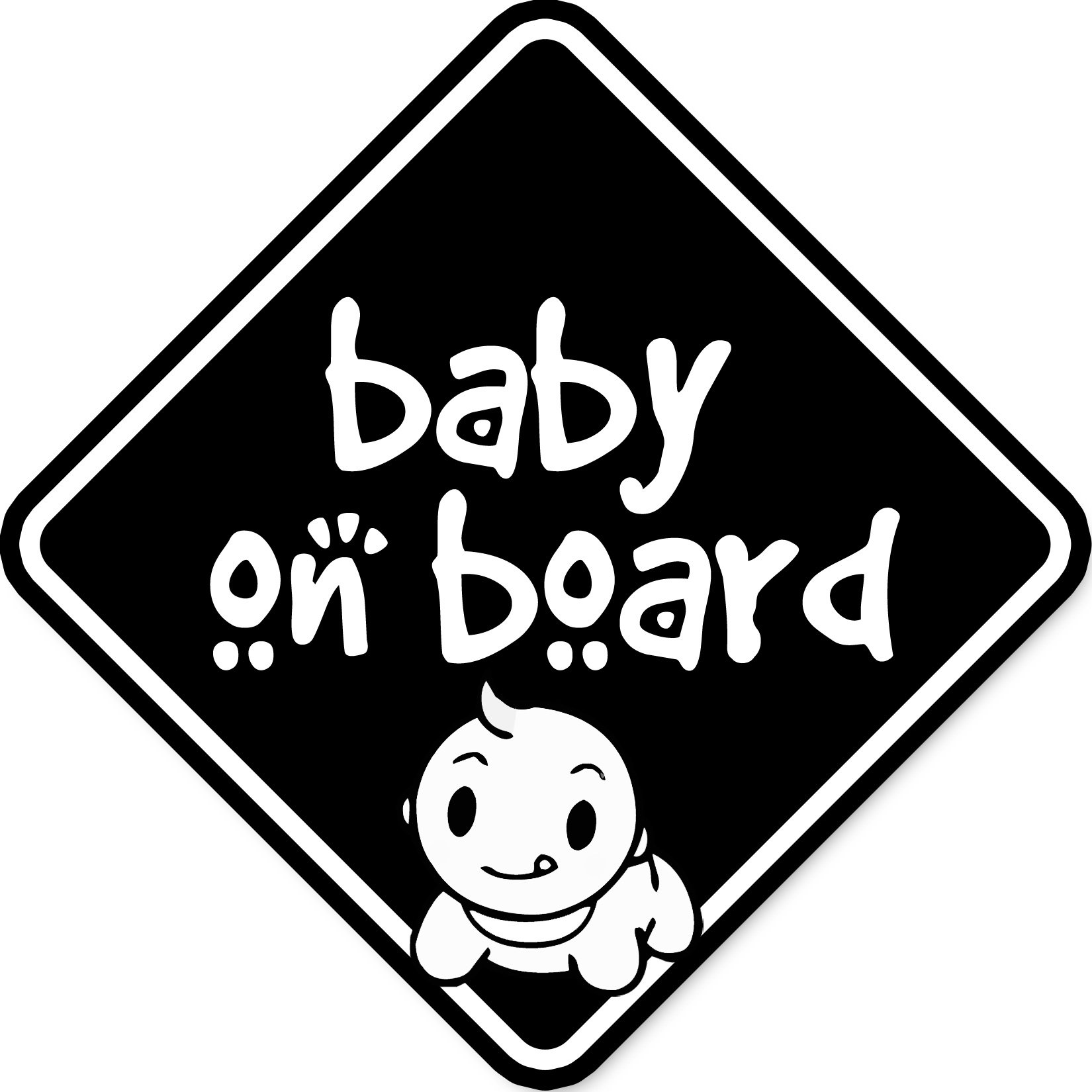 Baby On Board uzlīme automašīnai