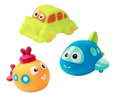Baby Ono Vannas rotaļlietas 3 gb. komplektā , somiņā