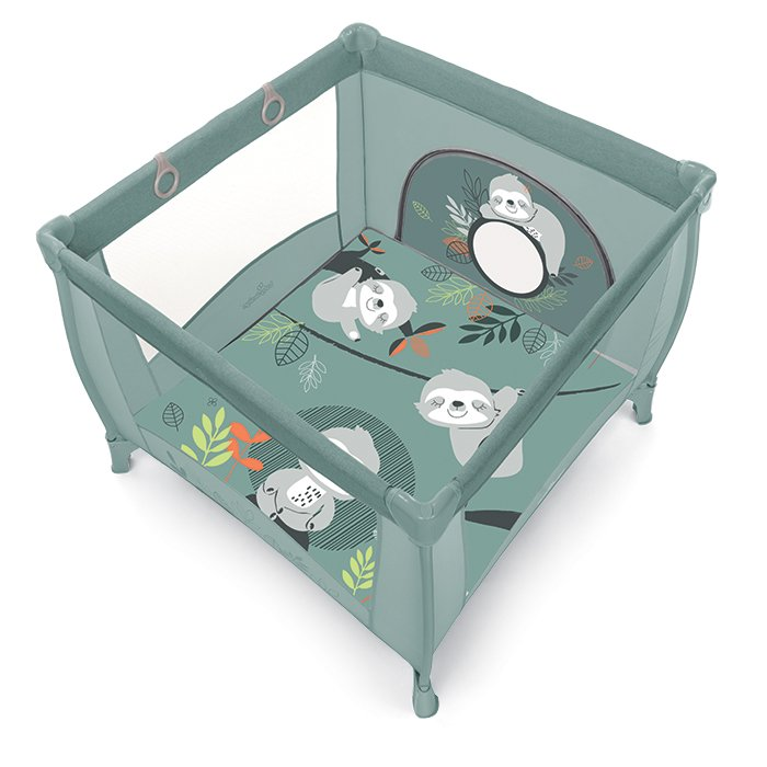 BabyDesign PLAY UP KOALA 04/green Saliekamā manēža