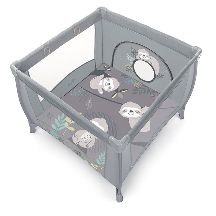 BabyDesign PLAY UP KOALA 07/grey Saliekamā manēža