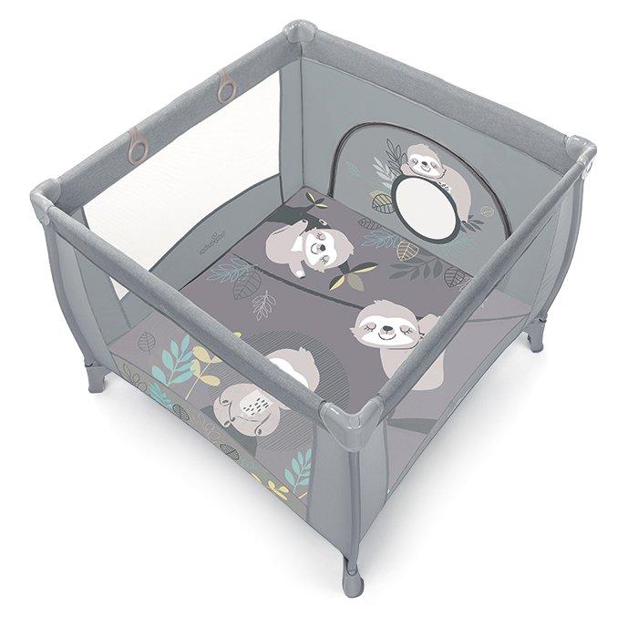 BabyDesign PLAY UP KOALA 07/grey Saliekamā manēža